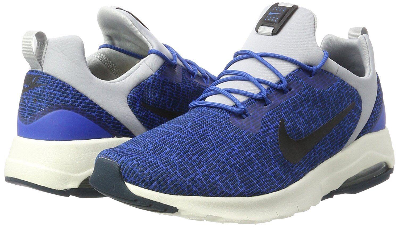 Men's Nike Air Max Motion Racer Casual Shoes, Blue/Blac 916771 400 Sizes 8.5-13 Blue/Blac Shoes, b0214a