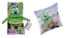 "NEW 10"" POSH PAWS SINGING GUMMY BEAR SOFT TOY GUMMI BAR WITH SOUND + CUSHION"