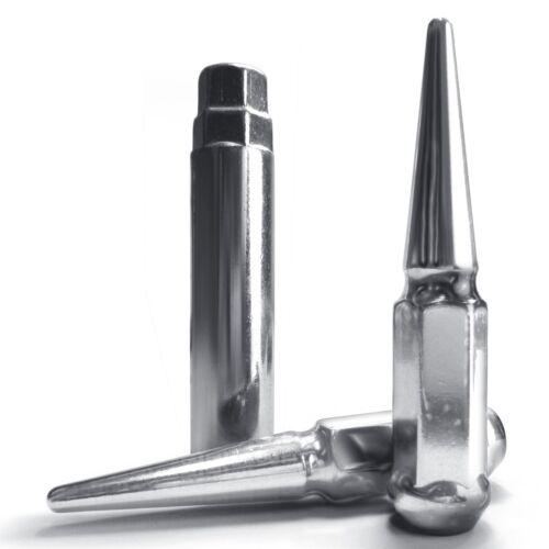 24pc 12x1.5mm Chrome Spike Lug Nuts For Toyota 4Runner Landcruiser Supra Tacoma