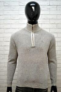 Maglione-Cotone-Uomo-MARLBORO-CLASSICS-Taglia-M-Pullover-Cardigan-Sweater-Man