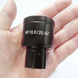 10X-biologique-microscope-oculaire-23-2-mm-Calibre-Grand-Champ-Oculaire-Lentille