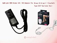 Ac Power Adapter Charger For Braun Silk-epil 1 Eversoft Type 5317 Epilator Hair