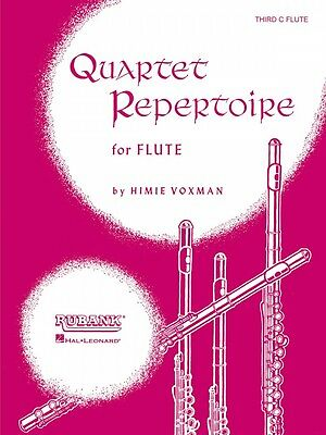 Steady Quartet Repertoire For Flute Full Score Ensemble Collection New 004473750 Suitable For Men And Women Of All Ages In All Seasons Wind & Woodwinds Instruction Books, Cds & Video