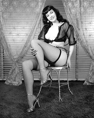 BETTIE PAGE 8 X 10 PHOTO GLOSSY #3