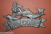 (4), Mermaid Welcome Sign, Mermaid,welcome, Seafood Restaurant,nautical Bl-40
