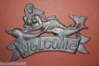 (4), Mermaid Welcome Sign, Mermaid,welcome, Seafood Restaurant,nautical Bl-40