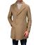 Cappotto-Doppio-Petto-Uomo-Invernale-Cappottino-Elegante-Lungo-Trench miniatura 21