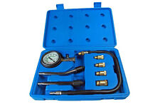 BERGEN COMPRESSION TESTER GAUGE KIT FOR PETROL ENGINE M10 - M18 ADAPTORS B5255