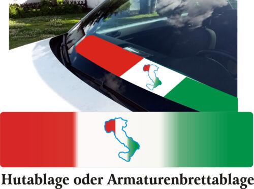 Italien Ablagenmatte Auto SUV VanTruck Fan Hut Heckablage Armaturenablagematte