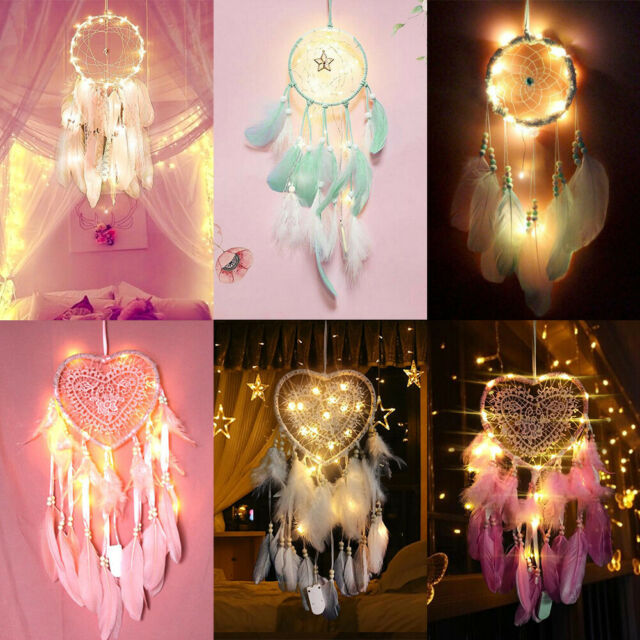 Dream Catcher Craft Home Decor Colorful Feather Car Hanging Wall Elegant For Sale Online Ebay