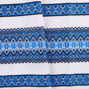 Tablecloth-Decorative-Ukrainian-ornament-Wedding-decor-White-Blue-black