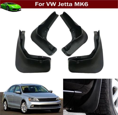 4 Mud Flaps Mudflap Splash Guard Mud Guards for VW Jetta Sedan 2015-2018