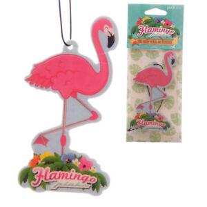 Flamingo-Ambientador-coche-para-el-hogar-van-pina-colada-novedad-Colgante-Freshner