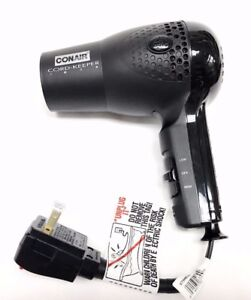 Conair Hair Blow Dryer 1875 Ionic Retractable Cord Dual
