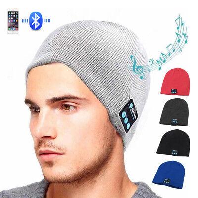 Bonnet Musique Casque Bluetooth écouteurs Sans Fil Homme Femme