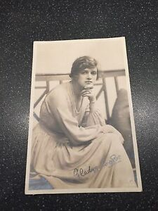 Details about Gladys Cooper, Hand Signed Autographed Postcard
