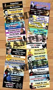Sun Records Jukebox Title Strips-The Birth of Rock