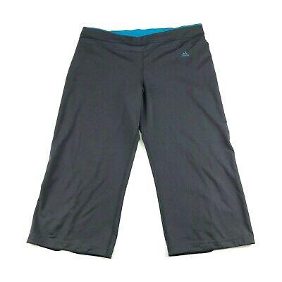 Adidas Climacool Donna Grigio Athletic Corto Capri Pantaloni L Garantire Un Aspetto Simile Al Nuovo In Modo Indefinibile