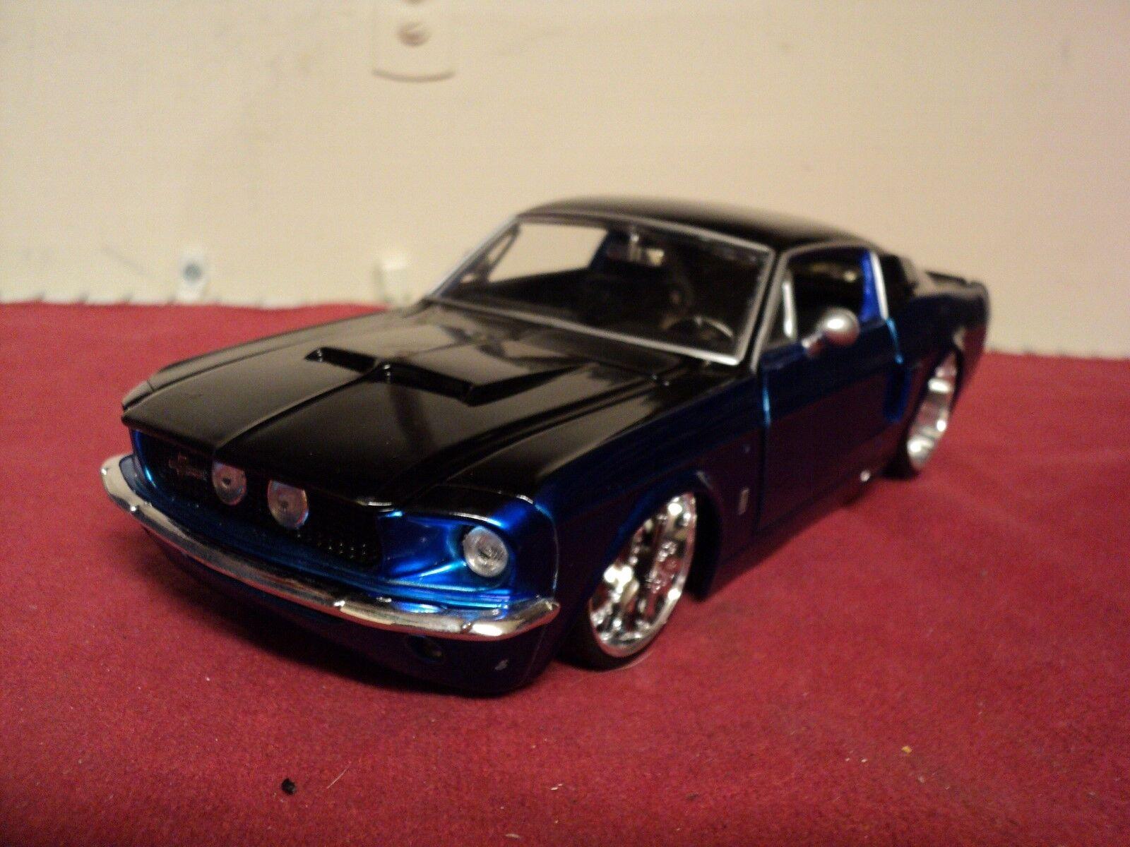 Jada 1967 Shelby Mustang GT500 Kr Escala 1 24 usado 2005 versión 2 tonos difíciles de encontrar