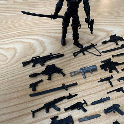 Lot 100pcs Gun Weapon Sword Accessories For GI JOE Cobra 3.75/'/' Figure toys gift