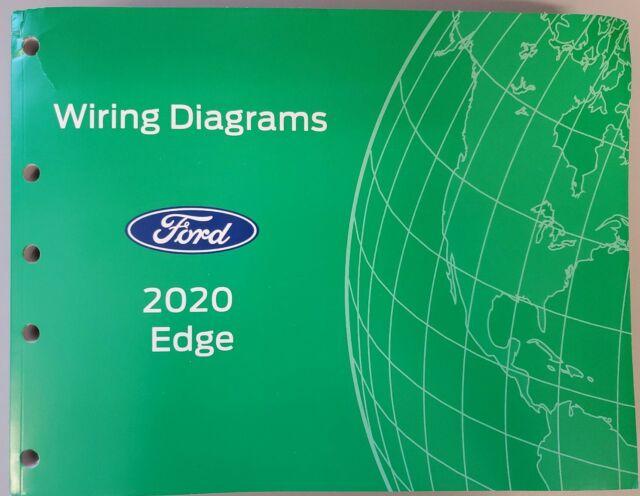 2020 Ford Edge Wiring Diagrams Manual