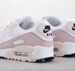 Nike Air Max 90 Barely Rose/Pink Women's Trainer Size 6 BRAND NEW