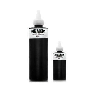 1oz or 8oz dynamic black tattoo ink original bottle for for Ebay tattoo ink