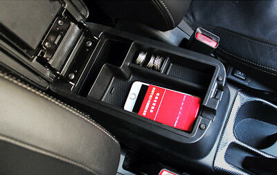 1pcs  Interior Armrest Storage organizer Box For Mitsubishi Outlander 2013-2018