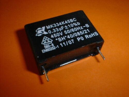 10x 0,33µf//450vac condensador mkp antiparasitario-condensador