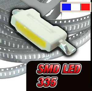113# SMD LED 335 :white, Warm white, red, blue, yellow, orange, green, Pink, UV