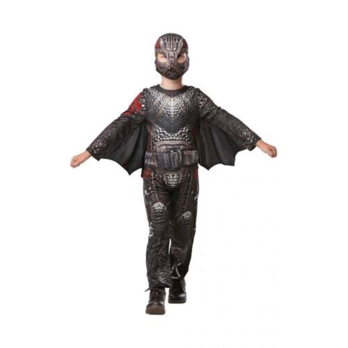 Boys Hiccup Deluxe Battlesuit Costume HOW TO TRAIN YOUR DRAGON 3 Fancy Dress