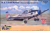 Valom Models 1/72 North American L-17b Navion Personal Command Aircraft