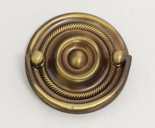 Classic Bronze Circular Hepplewhite Bail Pull