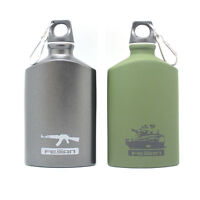 Vintage Outdoor Military Sports Cycling Camping Aluminum Alloy Water Bottle