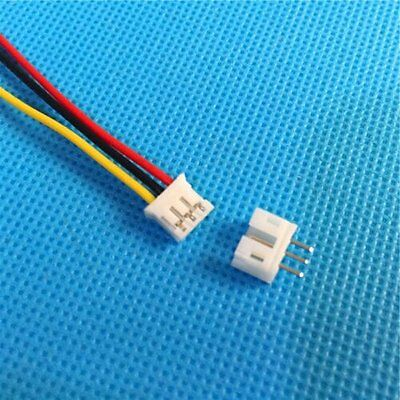 20 SETS Mini Micro JST 2.0mm PH 2.0 3-Pin Connector plug with Wires Cables
