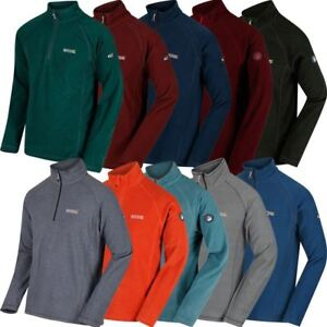 REGATTA-MONTES-FLEECE-SWEATER-MENS-SPORTS-TOP-Winter-Layer