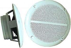 2x marine einbau lautsprecher sauna feuchtraum bad boot einbaulautsprecher 130mm ebay. Black Bedroom Furniture Sets. Home Design Ideas