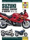 Suzuki GSX600/750F and GSX750 Service and Repair Manual: 1998-2002 by Matthew Coombs (Hardback, 2003)