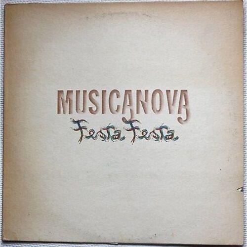MUSICANOVA - Festa Festa - LP VINILE 1981 EUGENIO BENNATO SHEL SHAPIRO
