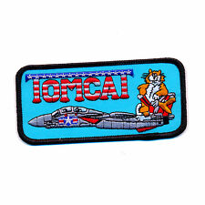 USA TOP GUN Navy Fighter Weapon School Tomcat US Patch Aufnäher Aufbügler 0902