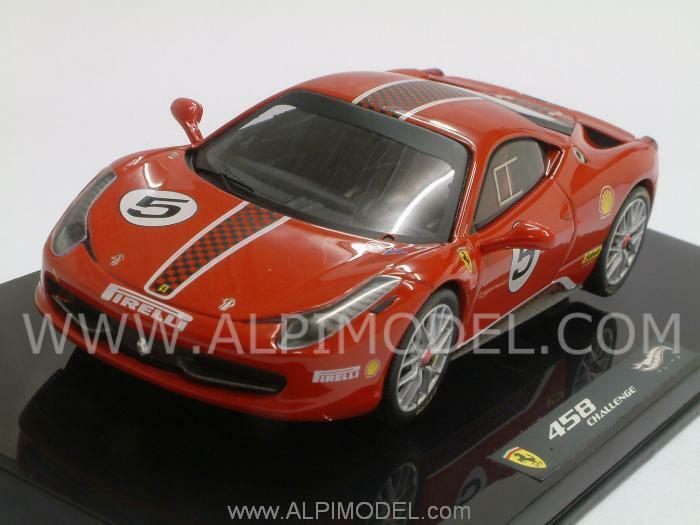Ferrari 458 Italia Challenge rouge 1 43 HOT WHEELS X5504