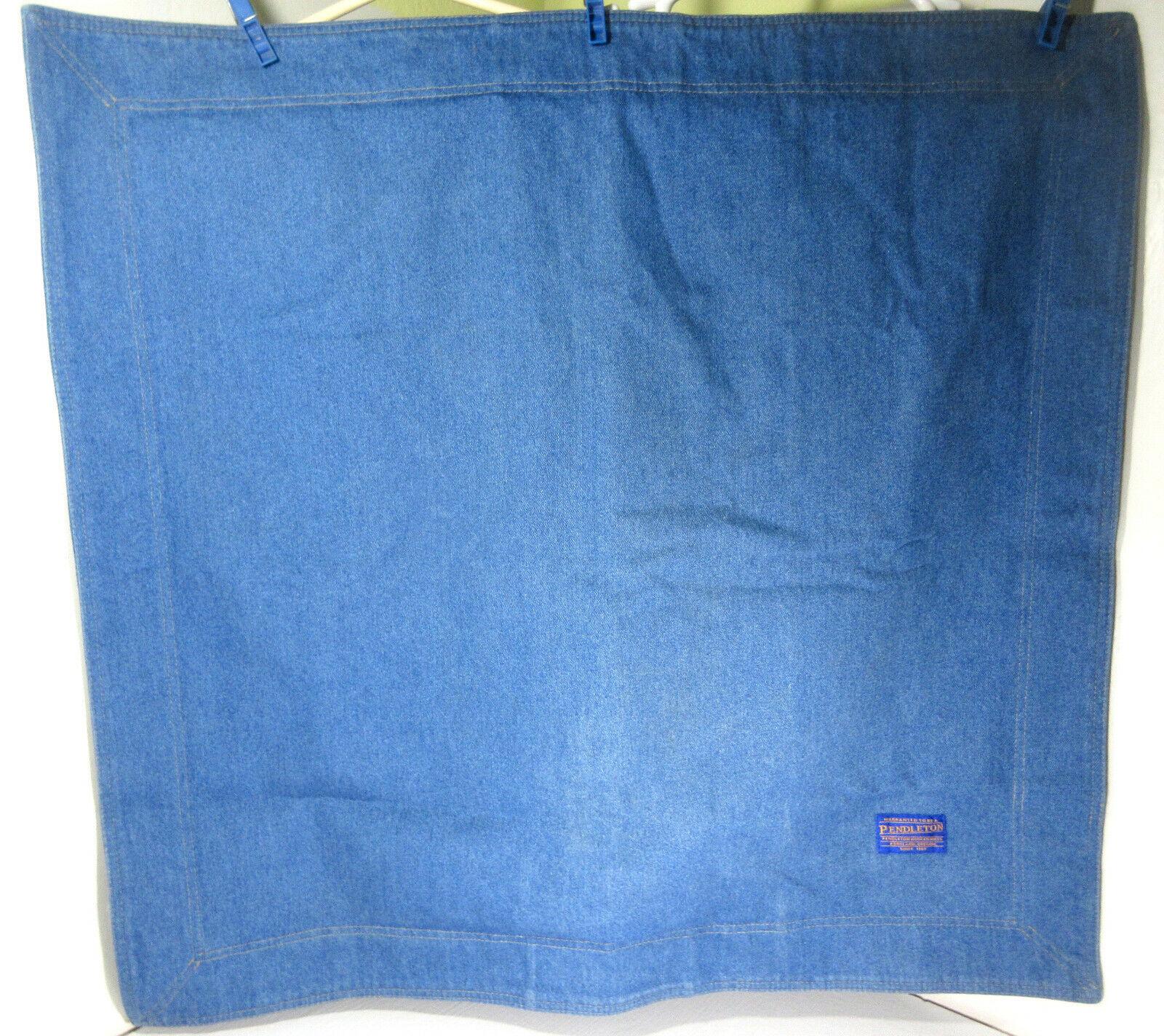 Pendleton Denim 100% Cotton Groß Kissenbezug 78.7cm X 76.2cm   Niedriger Preis und gute Qualität