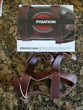 Fyxation Leather Growler Caddy Brown