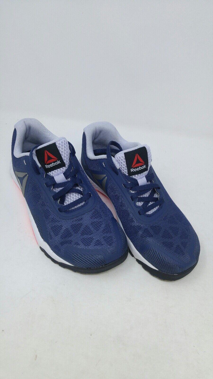 Reebok Women's Workout 2.0 shoes bluee Pink Size 5