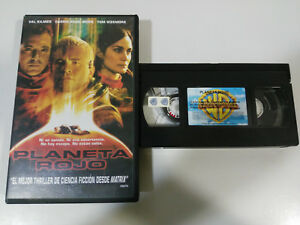 PLANET-RED-VAL-KILMER-CARRIE-ANNE-MOSS-TOM-SIZEMORE-VHS-TAPE-TAPE-SPANISH