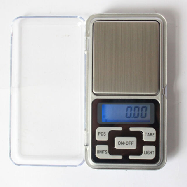 Mini 0.01g x 200g Stainless steel Digital Pocket Jewelry Weight Scale Balance