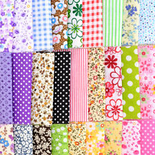 30pcs/set 10x10cm Square Cotton Fabric Patchwork Cloth Quilting DIY Craft Sewing