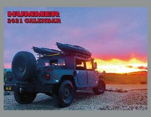 2021-Hummer-Calendar-brand-new-direct-from-publisher