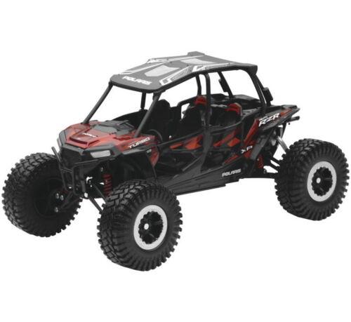 Polaris RZR Turbo XP Rock Crawler 1:18 Side by Side New Ray Toy Model Red 57976B