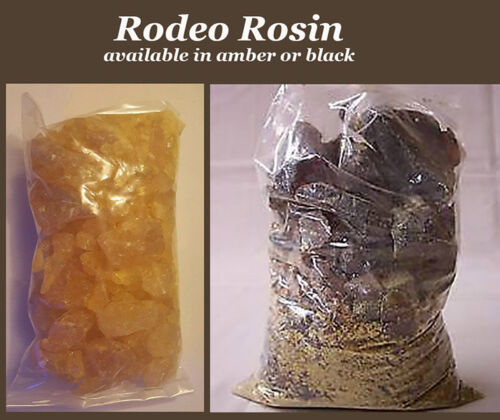 bag in Either BLACK or AMBER Rodeo Rosin Bull riding-violin-bullrider A 1 lb